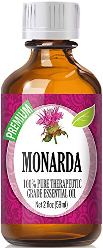 Monarda Essential Oil (60ml) 100% Pure, Best Therapeutic Grade Essential Oil - 60ml / 2 (oz) Ounces