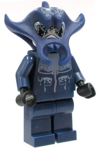Manta Warrior - LEGO Atlantis Minifigure - 1