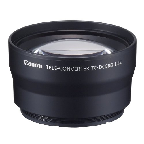 Canon TC-DC58D Tele Converter for The PowerShot G11/G12 Digital Camera Black Friday & Cyber Monday 2014