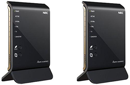 NEC AtermWG1800HP2 11ac/n/a(5GHz帯)&11n/g/b(2.4GHz帯) 同時利用タイプ イーサネットコンバータセット PA-WG1800HP2/E