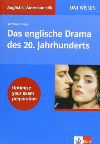 Uni-Wissen, Das englische Drama des 20. Jahrhunderts