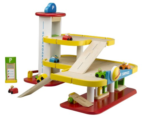 Branching Out Acorn Garage Wooden Playset