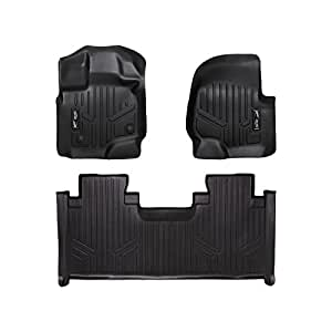 maxfloormat floor mats for ford f 150 supercab front bench seats 2015 2016. Black Bedroom Furniture Sets. Home Design Ideas