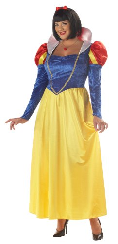 Halloween 2017 Disney Costumes Plus Size & Standard Women's Costume Characters - Women's Costume CharactersCalifornia Costumes Women's Plus-Size Snow White Plus, Sizes Up to Plus Size 3x