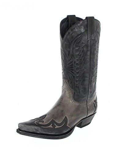 Sendra Boots 13170, Stivali uomo Marrone marrone, Multicolore (Negro Grigio), 46