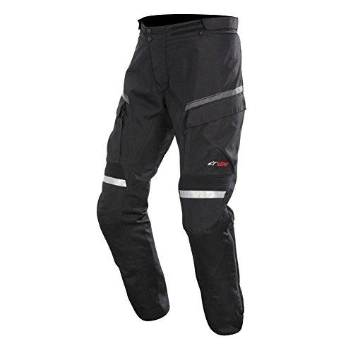 Alpinestars Valparaiso Drystar Pants , Gender: Mens/Unisex, Distinct Name: Black Short, Primary Color: Black, Size: 2XL, Apparel Material: Textile 3224114-10-2X