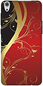 The Racoon Grip Red Haze hard plastic printed back case / cover for Lenovo S850