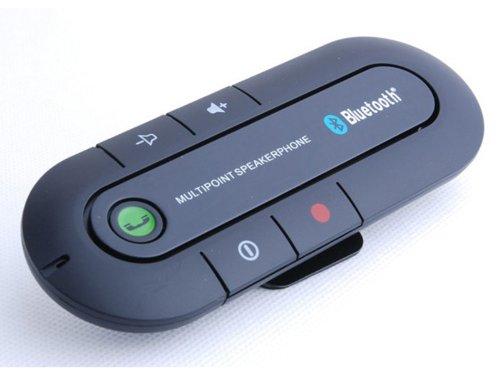 Nlc Wireless Bluetooth 3.0 Multipoint Handsfree Speakerphone Car Visor Speakerphone Support Two Phones