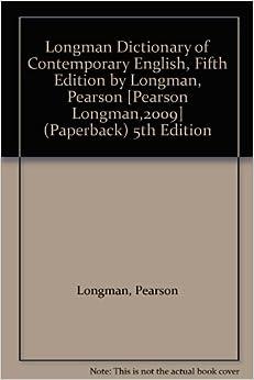 Of longman contemporary english pdf dictionary 5th