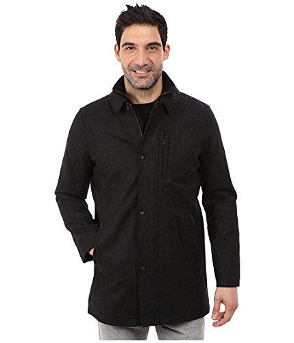 (カルバンクライン) Calvin Klein Wool Car Coat Mens Charcoal メンズ 男性 用 服 ファッション アパレル コート アウター ジャケット [並行輸入品]