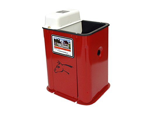 Brower mj31e super insulated heated livestock waterer for Super insulated water heater