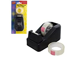 Tape Dispenser with Tape Set, Case of 36