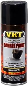 VHT SP905 Gloss Black Barrel Spray Paint Can - 11 oz.