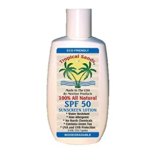 Click to buy Mexitan 100% All Natural SPF 50 Sunscreen Lotion from Amazon!
