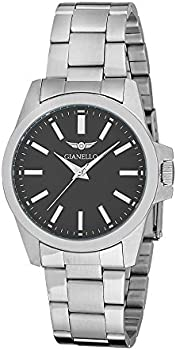 Gianello GNL7706BK Men's Bracelet Watch