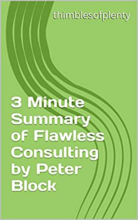 peter block flawless consulting pdf