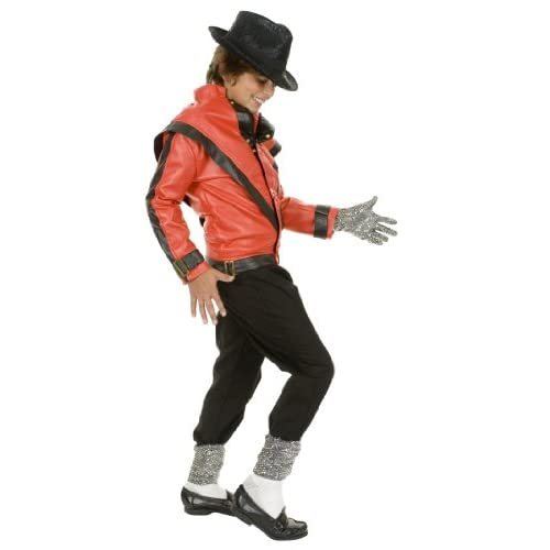 Mens Michael Jackson Thriller Costume