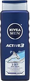 Nivea For Men Active3 Body Wash for B…