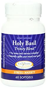 Enzymatic Therapy Holy Basil Trinity Blend, 60 Softgels