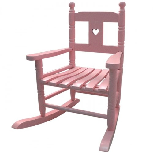 Powell Craft Rocking Chair - Pink