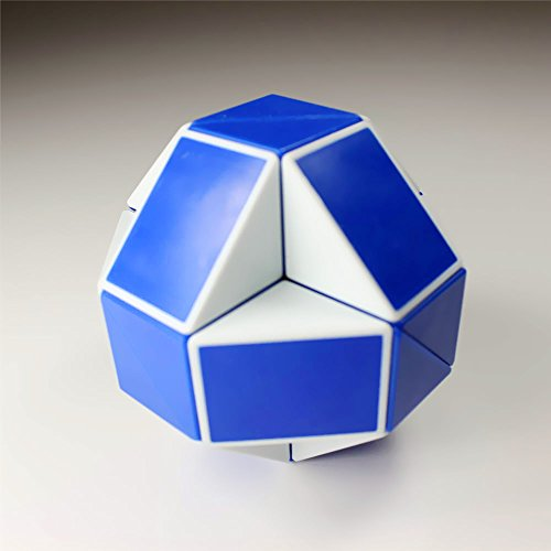 GoodPlay Shengshou Snake 15 Inch Magic Ruler Twist Puzzle Blue/white - 1