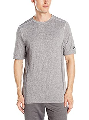 Under Armour Camiseta Manga Corta Ua Camden Seamless Ss (Gris)