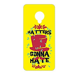 Vibhar printed case back cover for Infocus M2 GonnaHate