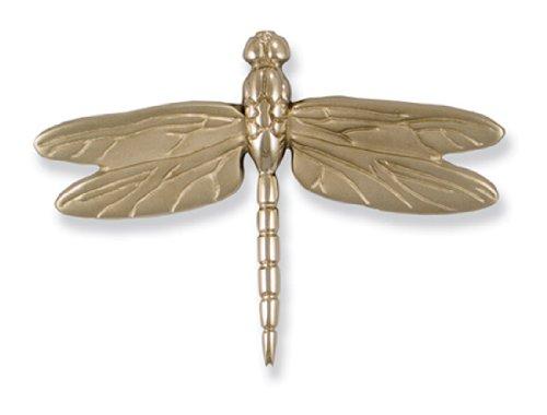 Dragonfly in flight door knocker nickel silver premium size hardware hardware accessories - Michael healy dragonfly door knocker ...