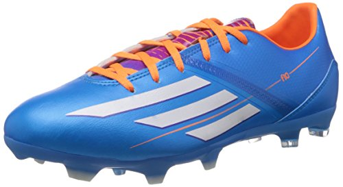 Adidas F10 TRX FG Fussballschuhe solar blue-ruinning white-solar zest - 42
