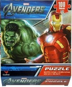 Puzzle for Kids: (100 Pieces) Marvel Heroes Jigsaw Puzzle for Toddlers Ages 5 Years Old and Up, Avengers and Fantastic Four - 1