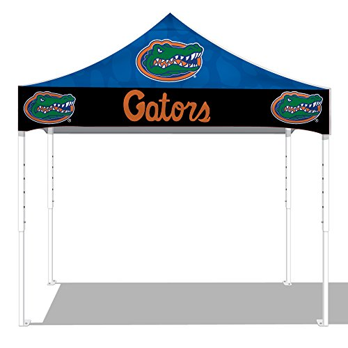 Kd Kanopy Ps100Uf Party Shade Digital Steel Frame 1-Piece Pop-Up Indoor/Outdoor Portable Canopy, 10 By 10-Feet, University Of Florida