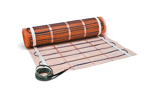 SunTouch 2x126 TapeMat 120V 25 Sq.Ft. Electric Radiant Floor Heating Mat with 10 ft Power Lead (Radiant Floor Heating Sun Touch compare prices)