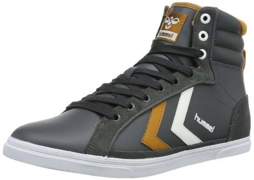 Hummel Unisex - Adult HUMMEL GAME HIGH Low-Top Gray Grau (DARK SHADOW 2336) Size: 43
