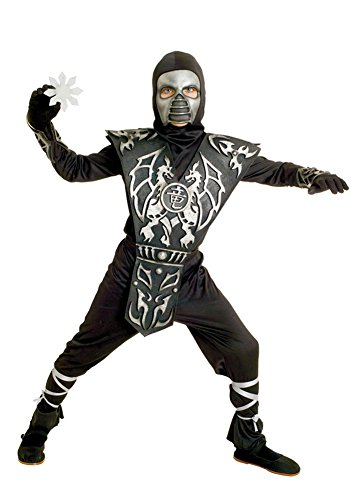 Boys - Ice Dragon Ninja Boys Md Halloween Costume - Child Medium