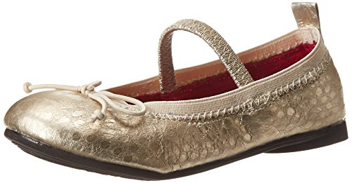 Kenneth Cole Reaction Copy Tap Ballet Flat (Toddler/Little Kid/Big Kid),Light Gold Snake,10.5 M Us Little Kid front-968163