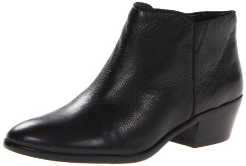 Sam Edelman Women's Petty Leather Boot,Black Leather,4 M US