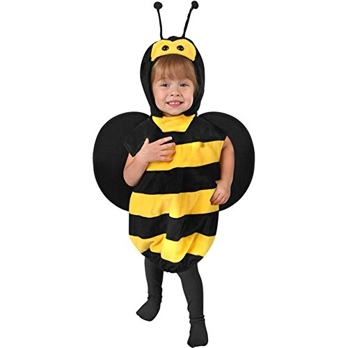 Toddler Plush Bee Halloween Costume (Size: 1T-2T)