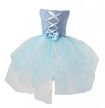 Blue Girls Toddler Kids Princess Dress Party Costume Fluffy Pettiskirts Tutu