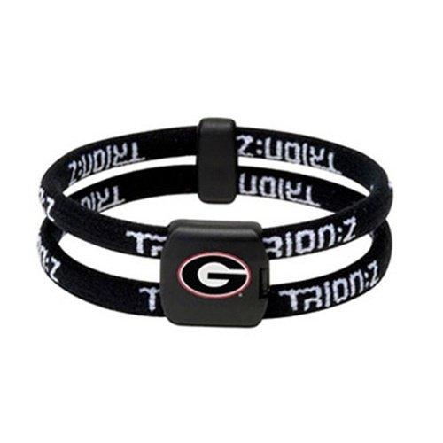 Trion:Z College Series Bracelet - Bulldogs Black/Black - Large (7.9