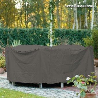 Videx-Gartenmöbel-Schutzhülle für runde Tischgruppe, taupe, Ø 250 cm, Hohe: 80cm bestellen