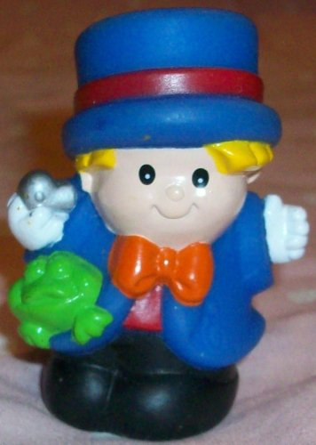 Buy Low Price Mattel Fisher Price Little People Circus Eddie Figure Replacement Doll Toy (B0023ZIXY0)