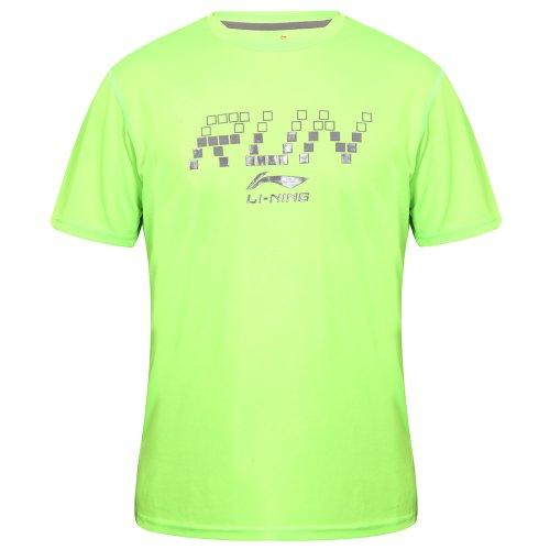 li-ning-t-shirt-a203-camiseta-de-running-para-hombre-color-verde-talla-s