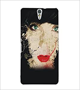 PrintDhaba Painting D-5419 Back Case Cover for SONY XPERIA C5 ULTRA (Multi-Coloured)