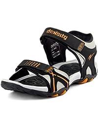 Mesha Men Den 6 Black Orange Sandal