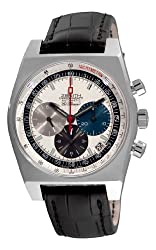 Zenith Men's 03.1969.469/01.C490 Vintage 1969 White Chronograph Dial Watch by Zenith