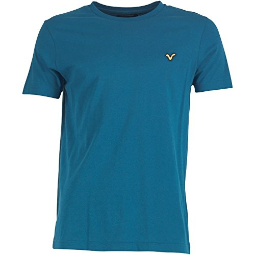 Kobalt Blau Voi Jeans Herren Hartford T-Shirt Ocean Blue - L To Fit Chest 38-40 Euro Large
