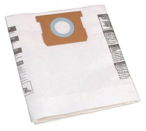 Shop-Vac 90661, 906-61 9066100 Disposable Collection Bag For 5-8 Gallon Vacs 5 Bags Per Pack