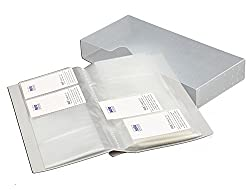 Solo BC- 808 Business Cards Holder - 1x480 Cards 480 Cards - Grey