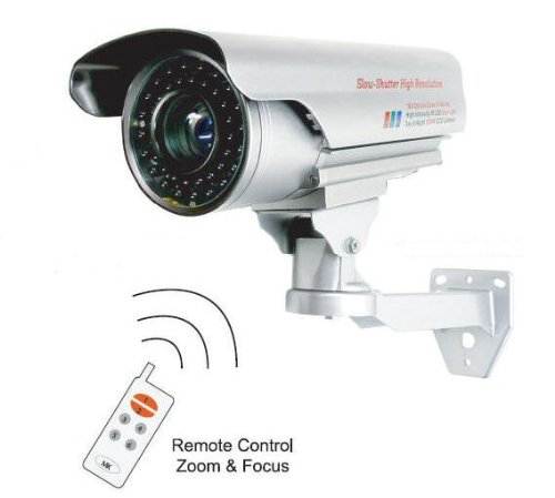 License Plate Sony CCD Security Camera
