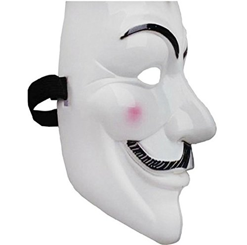 V for Vendetta Mask Guy Fawkes Anonymous fancy Cosplay costume